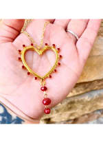 Gold Plated - Honest Heart Necklace - 1