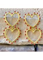 Gold Plated Honest Earrings - 1