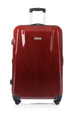 Champs 2-Piece Escape Hardside Luggage Set - Red - Back