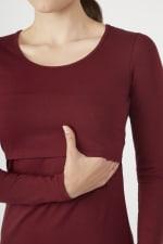Modern Eternity Charlotte Long Sleeves Round Neck Nursing Top - 9