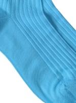 Sneaker Block Socks - Peacock - Detail