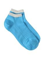 Sneaker Block Socks - Peacock - Front