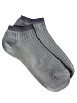 Sneaker Block Socks - Grey - Back