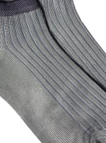 Sneaker Block Socks - Grey - Detail