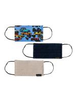 Champs - Kids Boys Cotton Triple Layer Mask 3 PC Set - 2