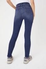 Westport Incrediflex Denim Fit Solution 5 Pocket Skinny Jean - Misses - Dark Wash - Back
