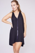 Nicky Dress - Black - Front