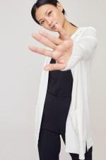 Pocket Hoodie Open Cardigan - 24