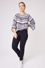 """Westport  """"On And Off The Shoulder Top"""" - Plus - 5"""