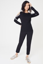 Sporty Cold Shoulder Sweater - 7