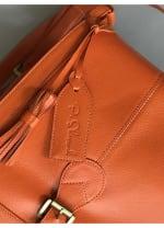 Parker Mini Bag - Pumpkin Orange - Back