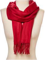 Red Pashmina Scarf - 2