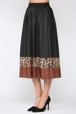 Winsley Animal Print Skirt - 3