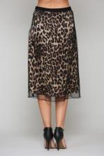Winnie Animal Print Skirt - 2