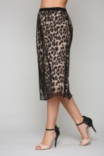 Winnie Animal Print Skirt - 3