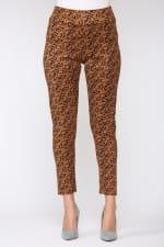 Leopard Annelise Pant - Leopard - Back