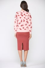 Sharlet Top - Pink red - Back