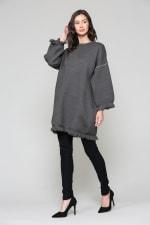 Susie Long Sleeve Tunic Top Dress - 3