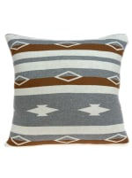 Square Decorative Southwest Tan Pillow Cover - 1