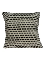 Modern Square Shades of Gray Accent Pillow Cover - 1