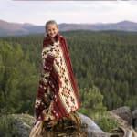 Ultra Soft Southwestern Red Hot Handmade Woven Blanket - 4
