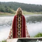 Ultra Soft Southwestern Red Hot Handmade Woven Blanket - 5