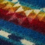 Ultra Soft Southwestern Rainbow Handmade Woven Blanket - 3
