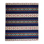 Ultra Soft Southwestern Rainbow Handmade Woven Blanket - 1