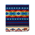 Ultra Soft Southwestern Rainbow Handmade Woven Blanket - 4