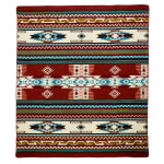 Ultra Soft Southwestern Arrow Handmade Woven Blanket - 1