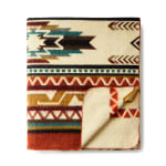 Ultra Soft Southwestern Arrow Handmade Woven Blanket - 2
