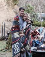 Ultra Soft Southwestern Dot Handmade Woven Blanket - 4