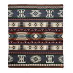 Ultra Soft Southwestern Dot Handmade Woven Blanket - 1