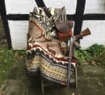 Ultra Soft Mountainside Lodge Handmade Woven Blanket - 3