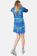 Closet Printed High Collar Dress - 2