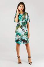 Multi Closet Kimono Wiggle Dress - 4