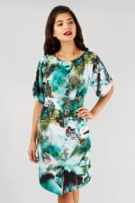 Multi Closet Kimono Wiggle Dress - 3