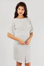 Black and White Closet Kimono Dress - 3