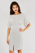 Black and White Closet Kimono Dress - 1