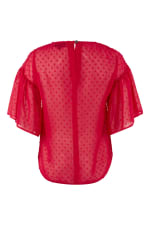Pink Frill Sleeve Top - 5
