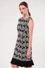 Black Pep - Hem Pencil Dress - 4
