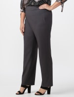 Roz & Ali Secret Agent Pull On Tummy Control Pants - Short Length - Plus - 10