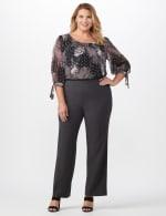 Roz & Ali Secret Agent Pull On Tummy Control Pants - Short Length - Plus - 12
