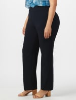 Roz & Ali Secret Agent Pull On Tummy Control Pants - Tall Length - Plus - 10