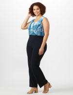 Roz & Ali Secret Agent Pull On Tummy Control Pants - Tall Length - Plus - 12