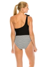 CaCelin Asymmetrical One Piece Swimsuit - 2