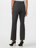 Roz & Ali Secret Agent Pull On Tummy Control Pants - Tall Length - Grey - Back
