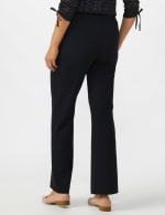 Roz & Ali Secret Agent Pull On Tummy Control Pants - Tall Length - Navy - Back