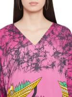 Tribal Handmade Print Kaftan Dress - 3