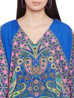 Paisley Handmade Kaftan Dress - 2